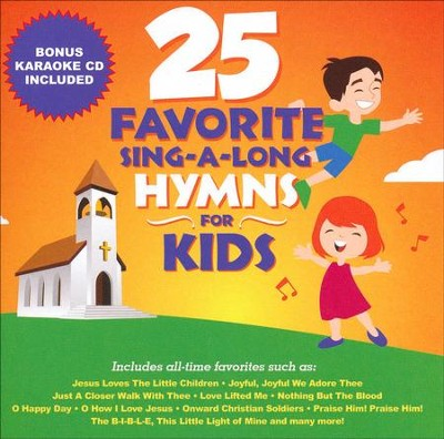 25 Favorite Sing-A-Long Hymns for Kids   -     By: Songtime Kids