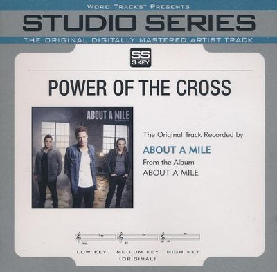 Power Of The Cross, Acc CD   -     By: About A Mile