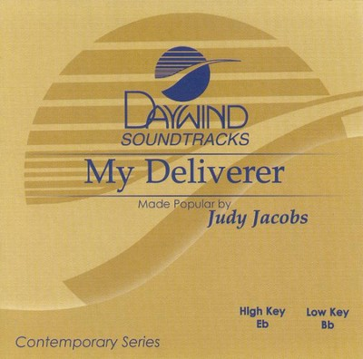 My Deliverer, Accompaniment CD   -     By: Judy Jacobs