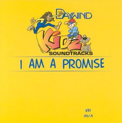 I Am A Promise, Acc CD   -     By: Kidz
