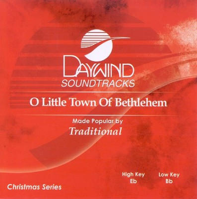 O Little Town of Bethlehem, Accompaniment CD   -     By: Traditional