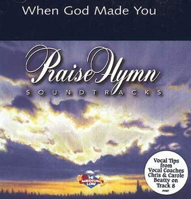 When God Made You, Acc CD   -     By: NewSong