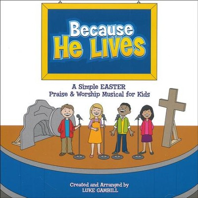 Because He Lives, Listening CD   -     By: Luke Gambill