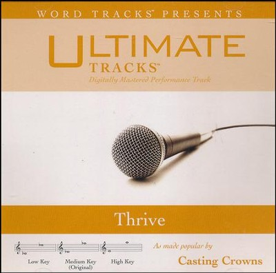 Thrive   -     By: Casting Crowns