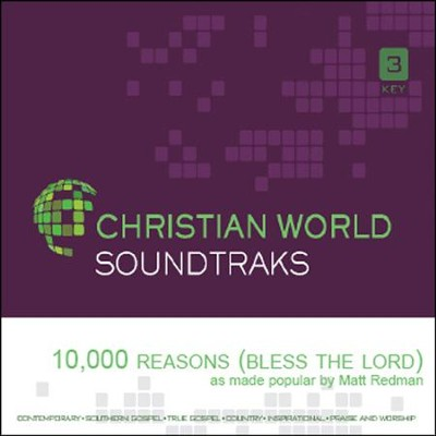 10,000 Reasons (Bless the Lord), Acc CD   -     By: Matt Redman