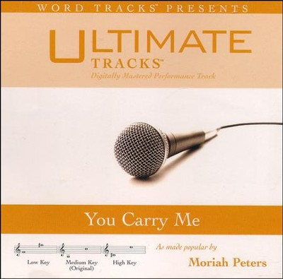 You Carry Me, Acc CD   -     By: Moriah Peters