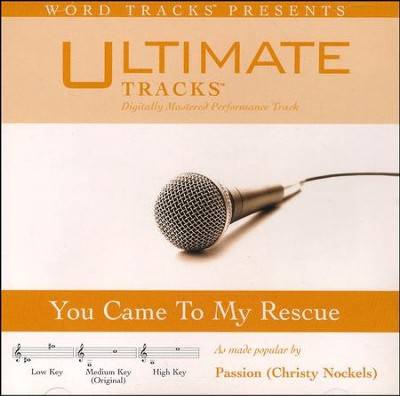 You Came To Rescue, Acc CD   -     By: Passion