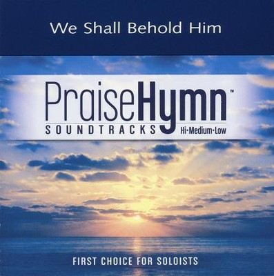 We Shall Behold Him, Acc CD   -     By: Sandi Patti