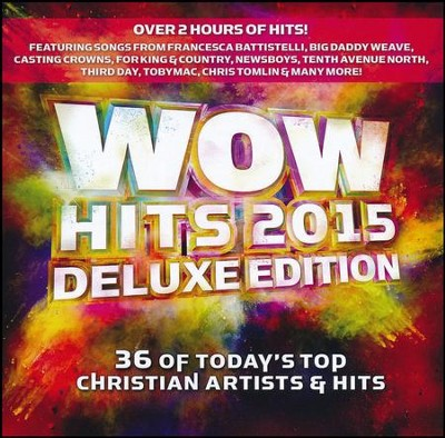 WOW Hits 2015 (Deluxe Edition)   -     By: Various Artists