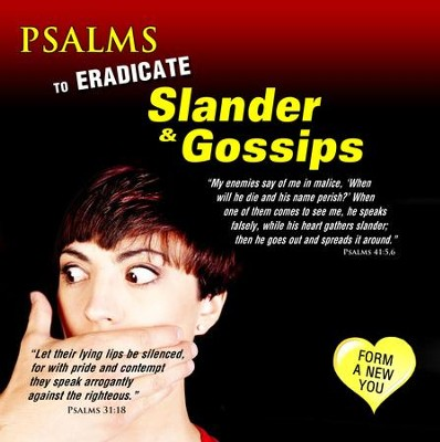 Psalms to Eradicate Slander & Gossip, CD  -     By: David & The High Spirit