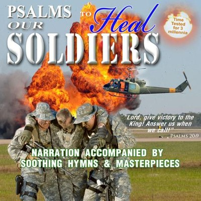 Psalms to Heal Our Soldiers, CD  -     By: David & The High Spirit