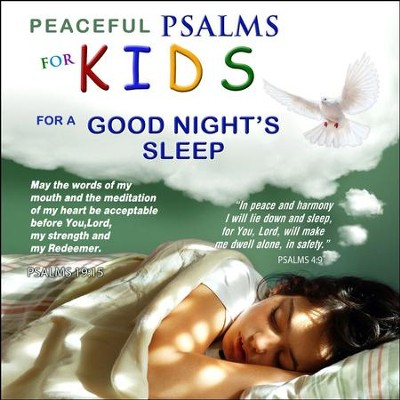 Peaceful Psalms for a Goodnight's Sleep - For Kids, CD  -     By: David & The High Spirit