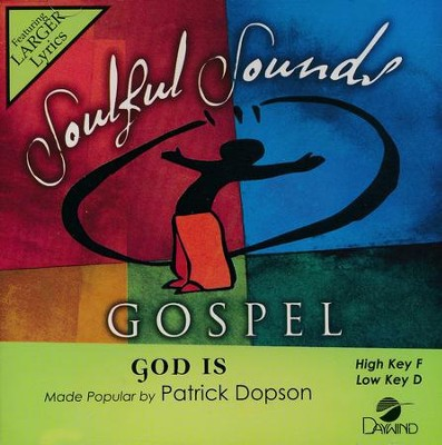 God Is, Acc CD   -     By: Patrick Dopson