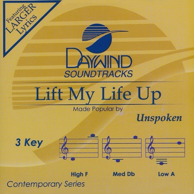 Lift My Life Up, Acc CD   -     By: Unspoken