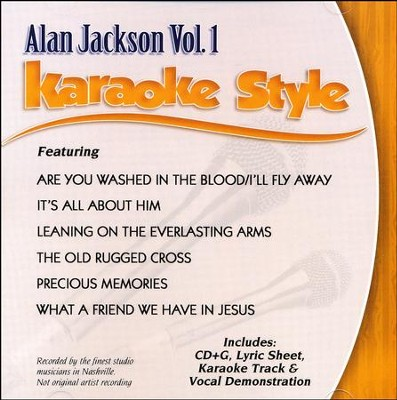 Alan Jackson Vol. 1, Karaoke CD   -     By: Alan Jackson