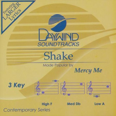 Shake  -     By: Mercy Me