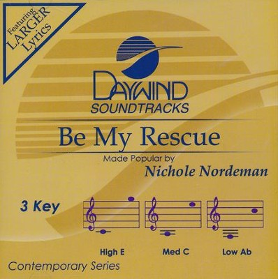 Be My Rescue, Acc CD   -     By: Nichole Nordeman