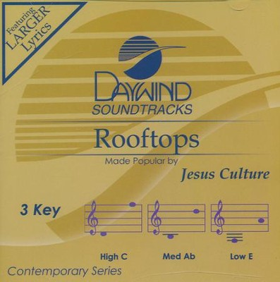 Rooftops, Acc CD   -     By: Jesus Culture