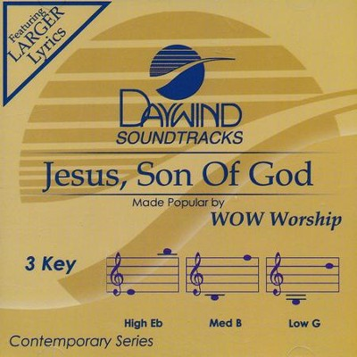 Jesus, Son Of God, Acc CD   -     By: WOW Worship Lime Project