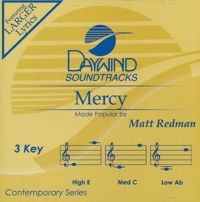 Mercy, Acc CD   -     By: Matt Redman