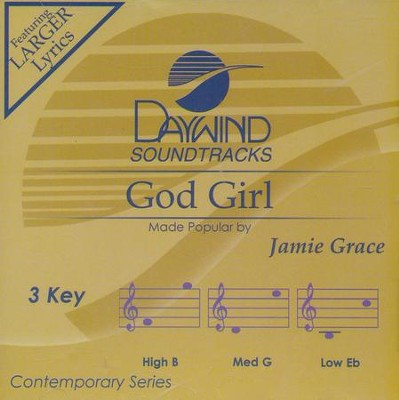 God Girl, Accompaniment CD   -     By: Jamie Grace