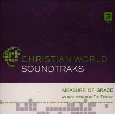 Measure Of Grace, Acc CD   -     By: The Taylors