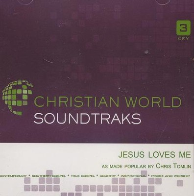 Jesus Loves Me, Accompaniment Track  -     By: Chris Tomlin