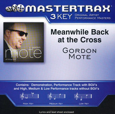 Meanwhile Back At the Cross Acc, CD  -     By: Gordon Mote