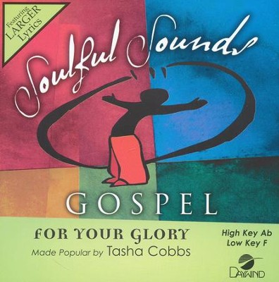 For Your Glory  -     By: Tasha Cobbs