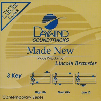 Made New, Acc CD   -     By: Lincoln Brewster