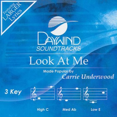 Look At Me, Acc CD   -     By: Carrie Underwood