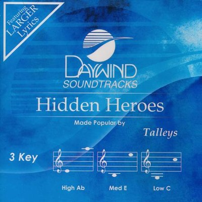 Hidden Heroes, Acc CD   -     By: The Talleys