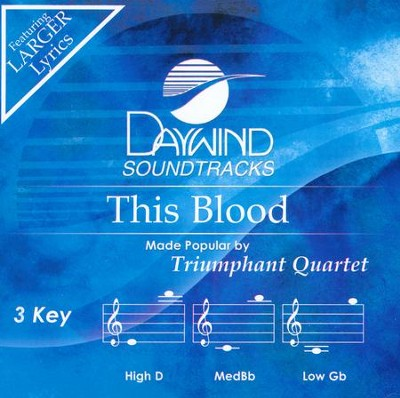 This Blood, Acc CD   -     By: Triumphant Quartet