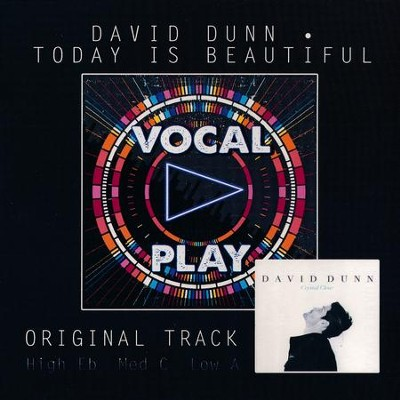 Today Is Beautiful, Acc CD   -     By: David Dunn