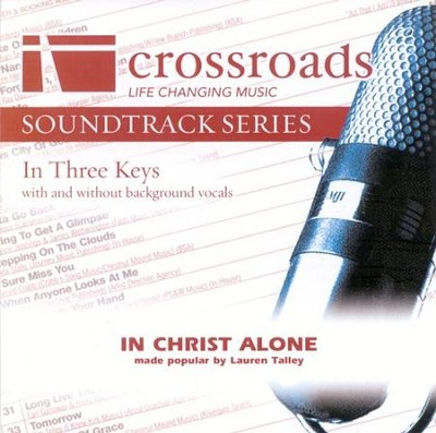 In Christ Alone, Accompaniment CD   -     By: Lauren Talley