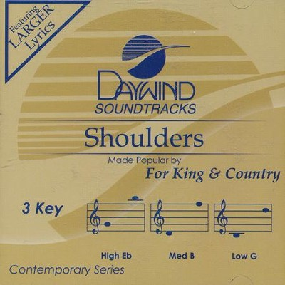 Shoulders, Acc CD   -     By: for KING & COUNTRY