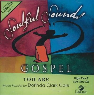 You Are, Acc CD   -     By: Dorinda Clark-Cole