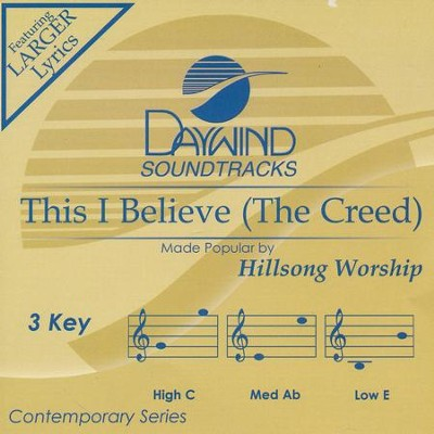 This I Believe (The Creed), Acc CD   -     By: Hillsong Worship