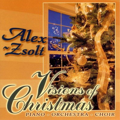 Visions of Christmas Piano-Orchestra-Choir  -     By: Alex Zsolt