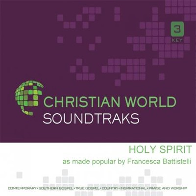 Holy Spirit, Acc CD   -     By: Francesca Battistelli