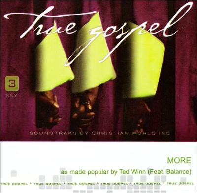 More, Acc CD   -     By: Ted Winn