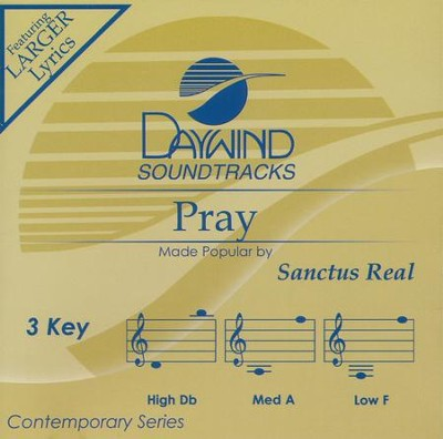Pray, Acc CD   -     By: Sanctus Real