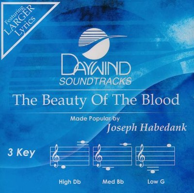 Beauty Of The Blood, Acc CD   -     By: Joseph Habedank