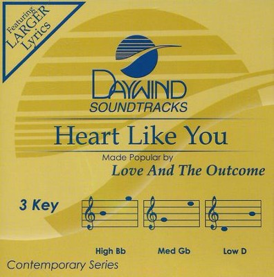 Heart Like You, Acc CD   -     By: Love And The Outcome