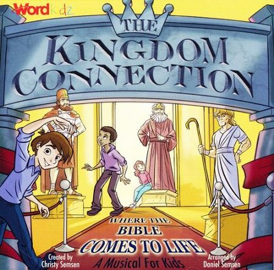 The Kingdom Connection: Where the Bible Comes to Life (Listening CD)  -     By: Christy Semsen, Daniel Semsen