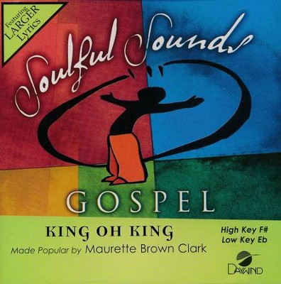 King Oh King, Acc CD   -     By: Muarette Brown-Clark