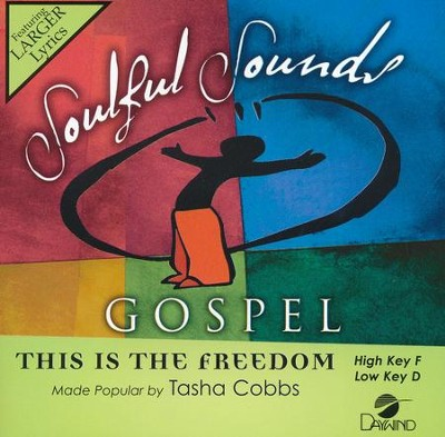 This Is The Freedom, Acc CD   -     By: Tasha Cobbs