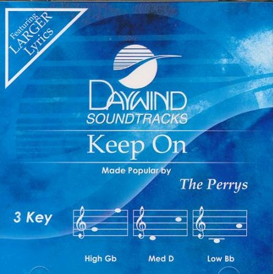 Keep On, Acc CD   -     By: The Perrys