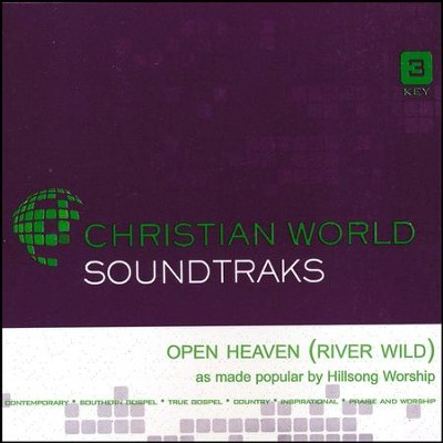 Open Heaven (River Wild), Accompaniment Track  -     By: Hillsong Worship