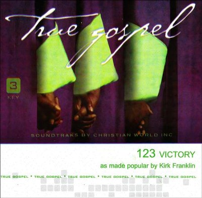 123 Victory, Accompaniment Track  -     By: Kirk Franklin